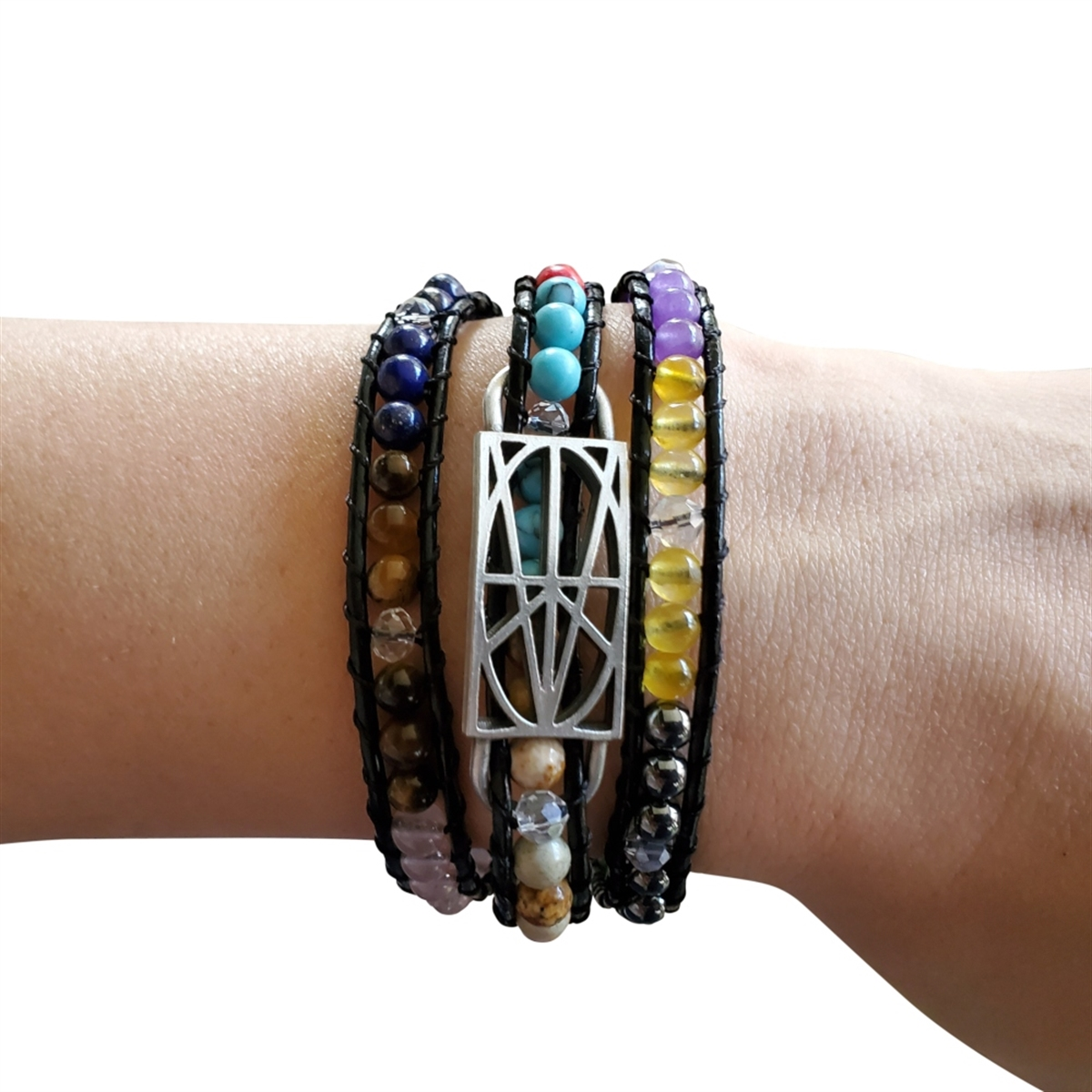 Picture of LIMITED EDITION Multi-Colored Wrap Bracelet